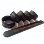 силиконовые слэп браслеты