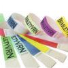 Контрольные браслеты, бумажные браслеты